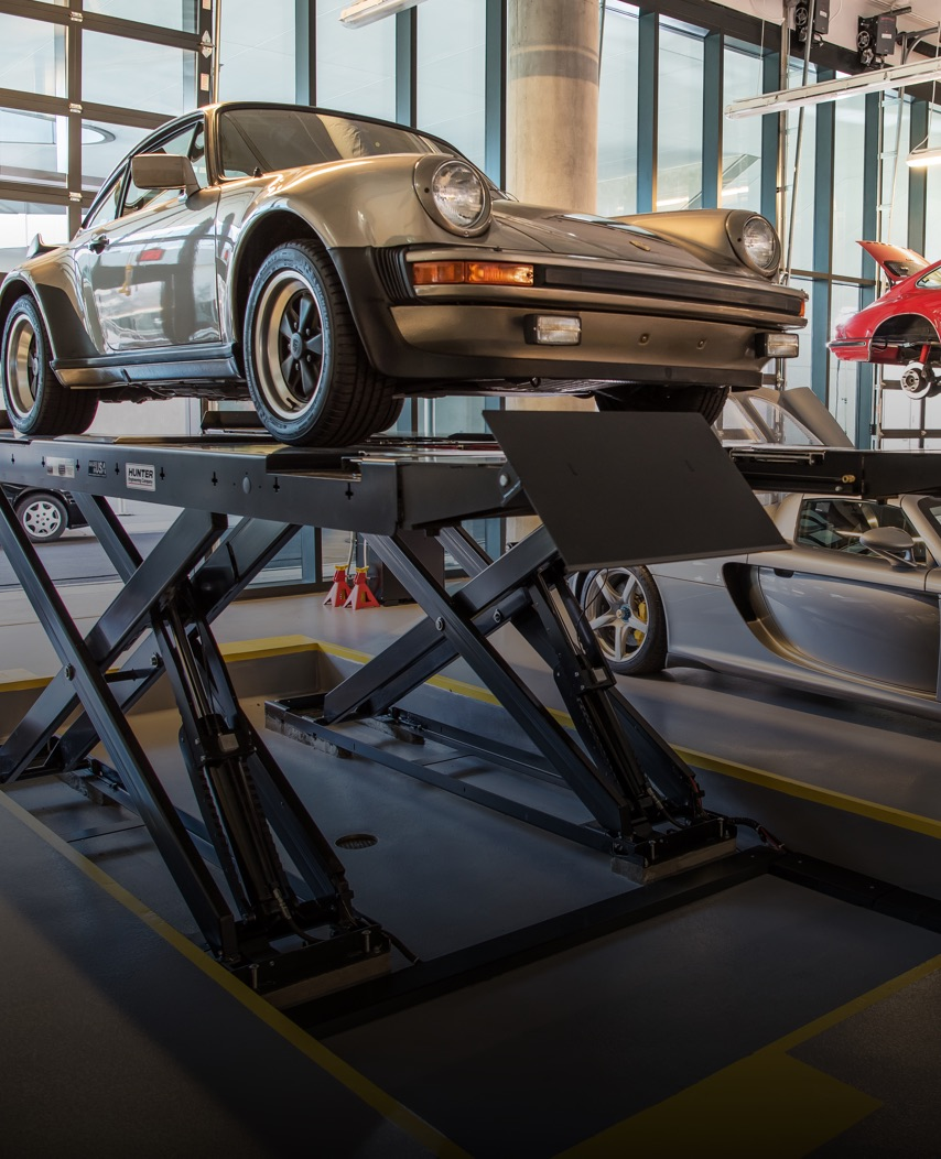 Porsche Experience Center Atlanta Classic Car Restoration