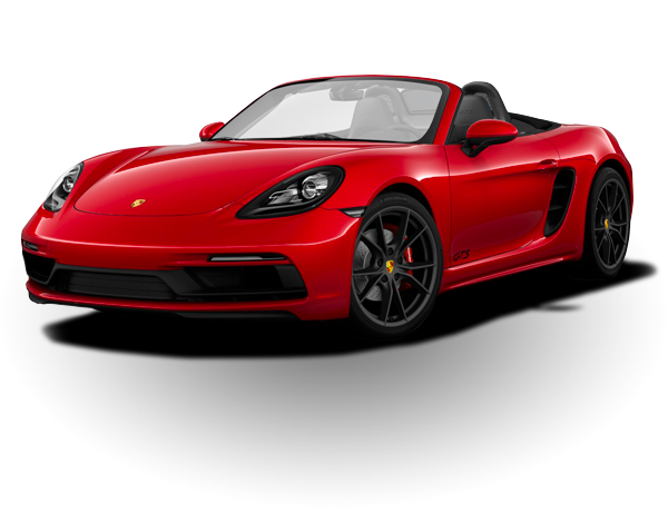 Carmine Red 718 Boxster GTS