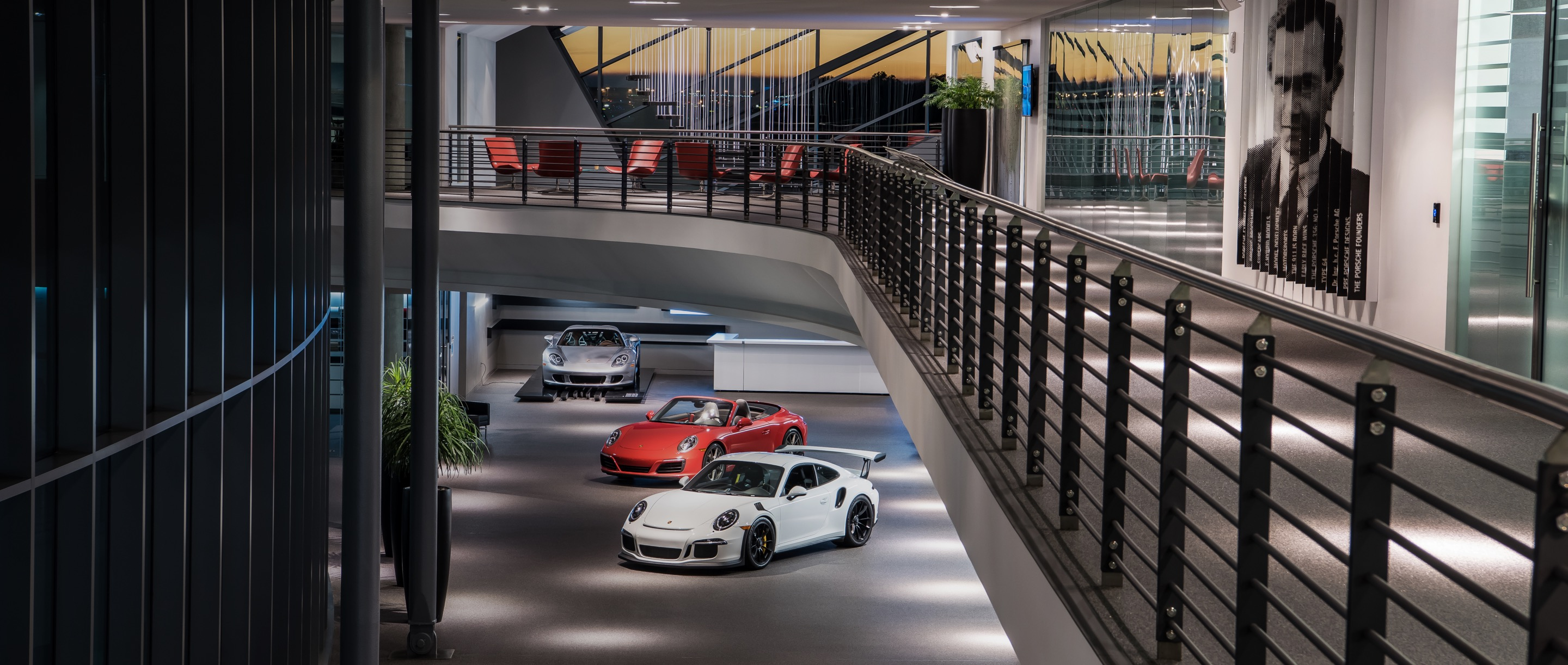 Porsche Experience Center Atlanta Off the Track Header for desktop view
