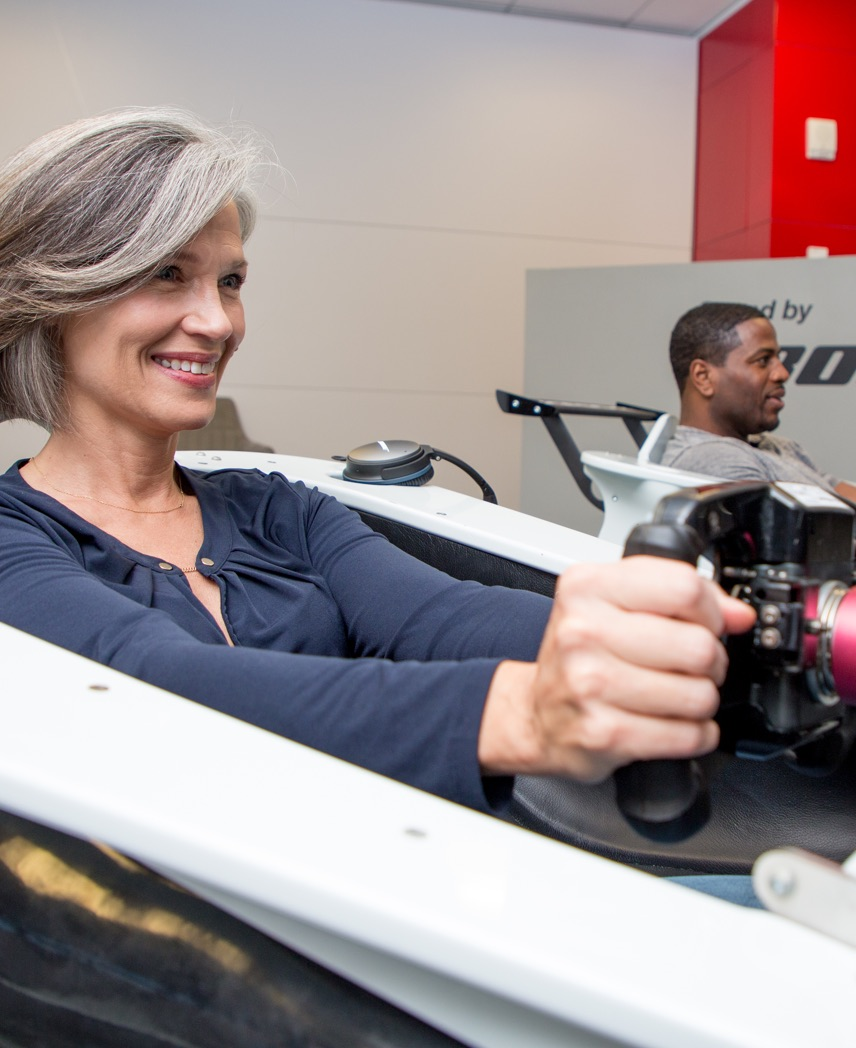 porsche experience center simulators