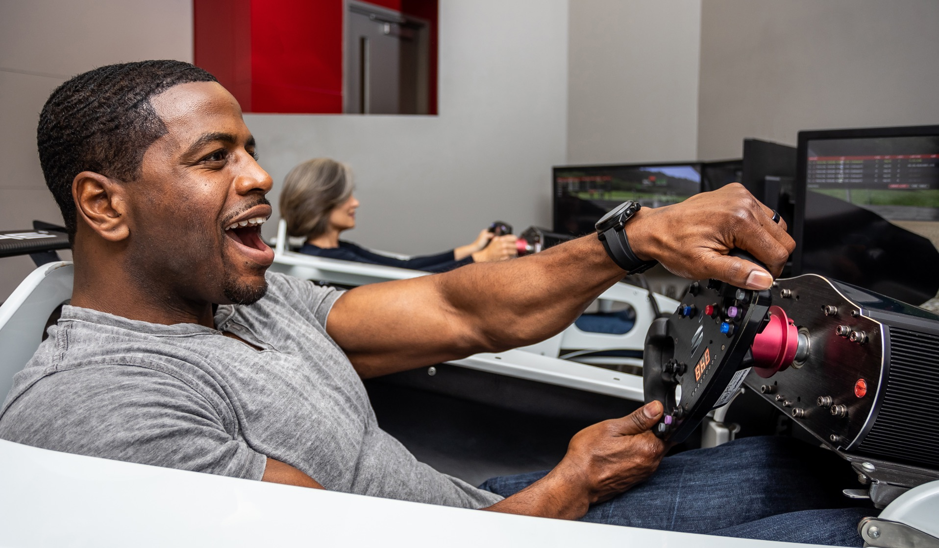 Porsche Experience Center Atlanta simulator lab