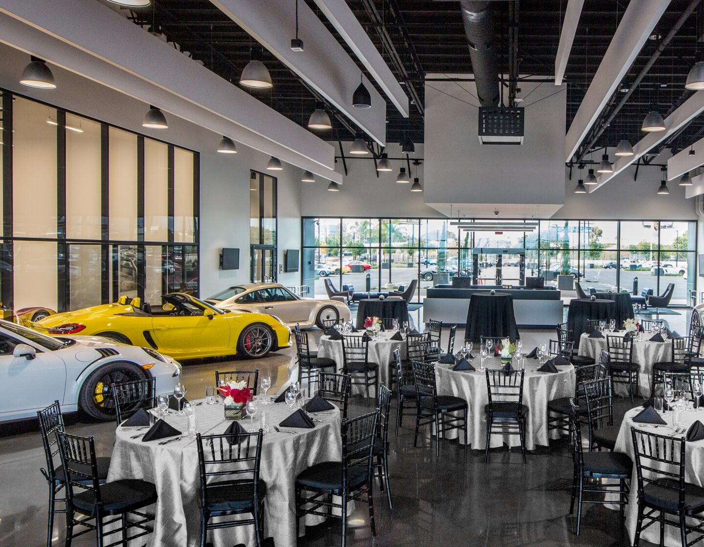 Porsche Experience Center Los Angeles Corporate Special Events desktop