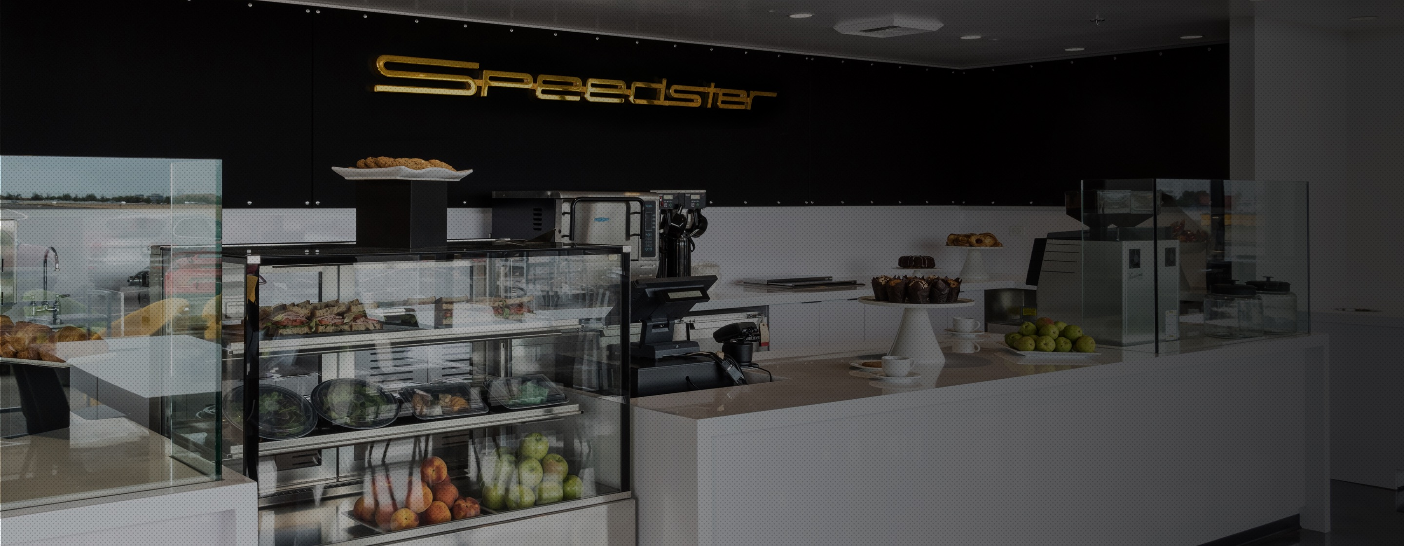Porsche Experience Center Los Angeles Speedster Cafe